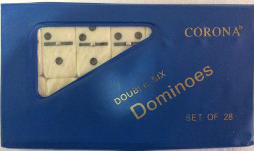 Juego De Domino Estuche Plastico 12mm Sy Co 6