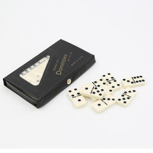 Juego De Domino Profesional Grande 28 Piezas Estuche Resiste