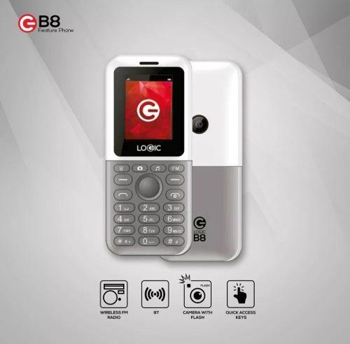 Telefono Celular Logic B8, Somos Tienda Fisica