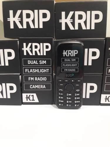 Teléfono Celular Dual Sim Krip K1 Negro