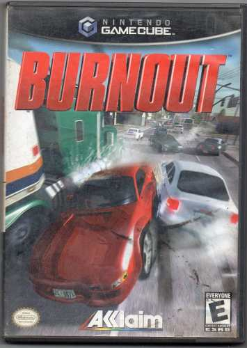 Burnout. Gamecube. Video Juego Original Usado M5