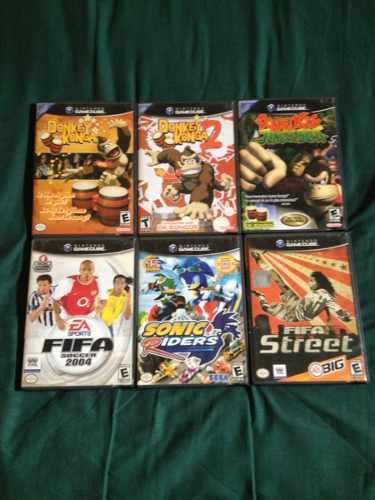 Cambio Juegos De Nintendo Gamecube Y Wii