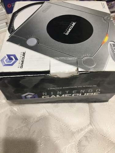 Consola Nintendo Game Cube Platinum Edición Limitada