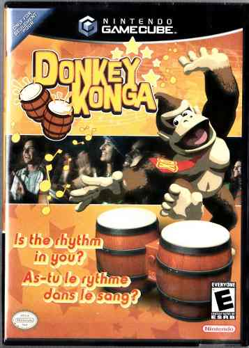 Donkey Konga. Is The Rhythm In You?. Cd Original Usado.
