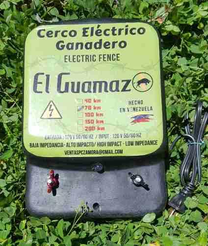 Electrificador Cerca Ganadera Energizador Impulsor 70 Km