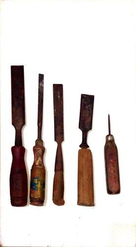 Formon De Carpinteria Varias Medidas 5 Piezas