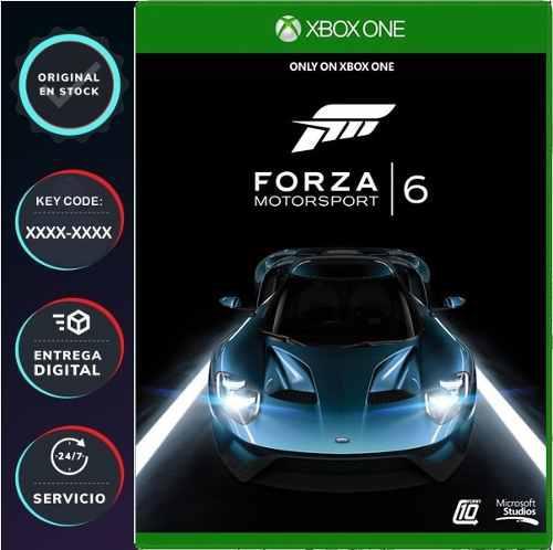 Forza Motorsport 6 Para Xbox One Código Digital Juega
