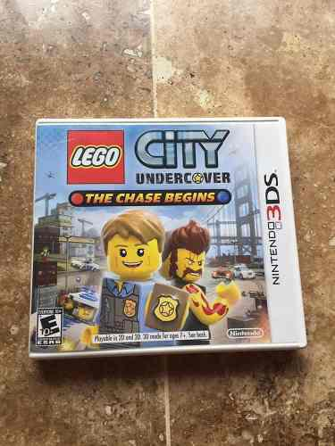 Juego De 3ds Lego City Undercover Chase Begins