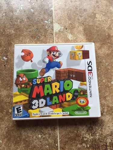 Juego De 3ds Super Mario 3d Land