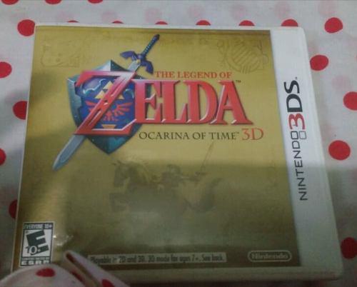 Juego De Ds 3d The Legend Of Zelda Ocarina Of Time 3d