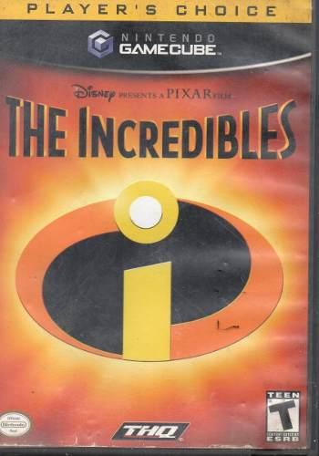 Los Increibles Video Juego De Game Cube Original Usado