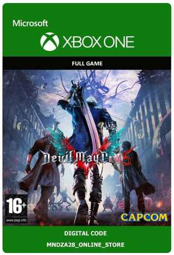 May Cry 5 Xbox One / Código Digital (v)