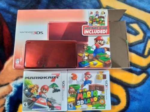 Nintendo 3ds Edición Especial Super Mario Land
