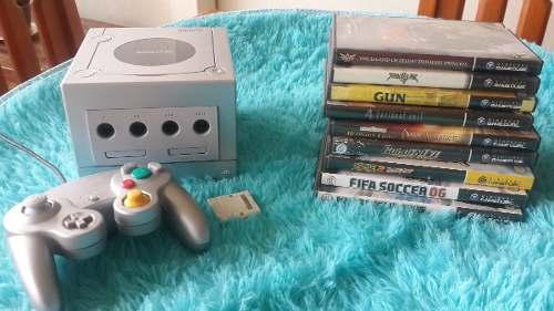 Nintendo Gamecube Como Nuevo + Juegos