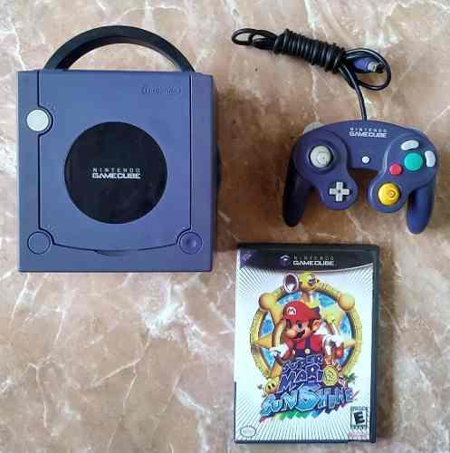 Nintendo Gamecube Con Mario Sunshine