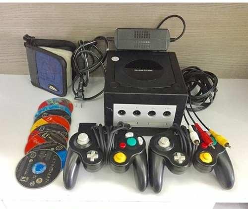 Nintendo Gamecube Consola +2 Control + Memory Card