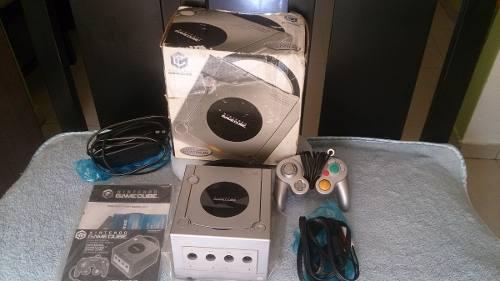 Nintendo Platinum Gamecube Completo Con Caja Y Manuales!