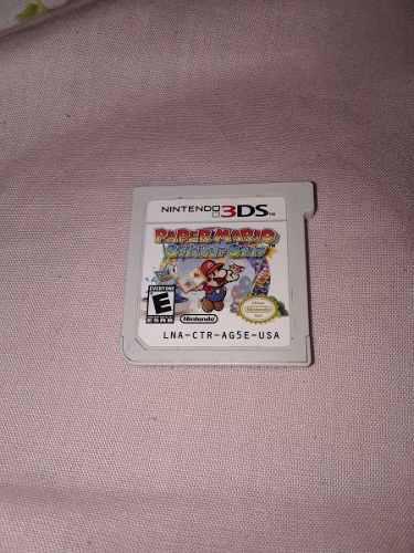 Paper Mario Sticker 3ds