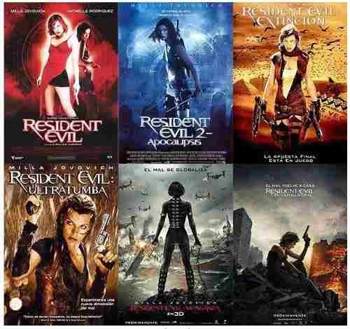 Peliculas Hd Digitales Resident Evil Coleccion