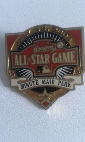 Pin Logo Coleccion Juego De Estrellas Mlb 2004 20v