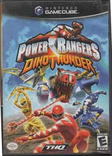 Power Rangers.dino Thunder. Gamecube Original Usado