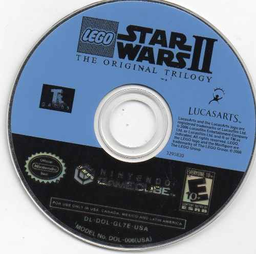 Star Wars Ii. The Original Trilogy. Video Juego Original Usa