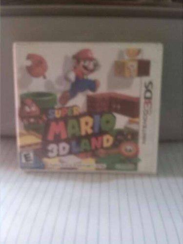 Vendo Super Mario Land 3d Para Nintendo 3ds