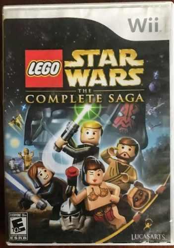 Wii Juego Original Lego Star Wars La Saga Completa