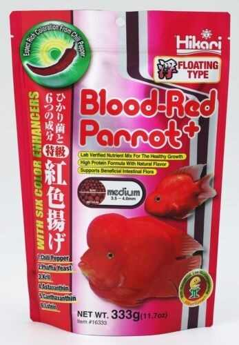 Alimento Comida Peces Ciclidos Hikari Blood Red Parrot+ 333g