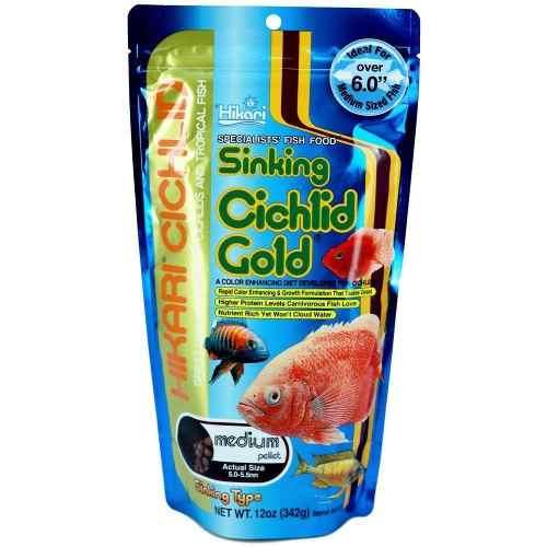 Alimento Comida Peces Ciclidos Hikari Cichlids Gold 5mm 100g