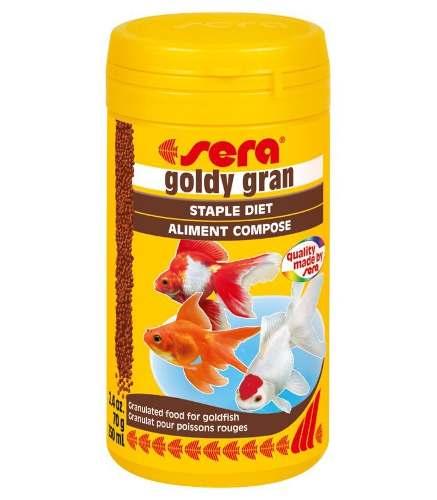 Alimento Peces Goldfish Granulados Sera 70 Grs