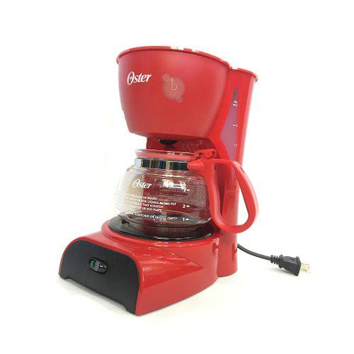 Cafetera Electrica 4 Tazas Oster Roja