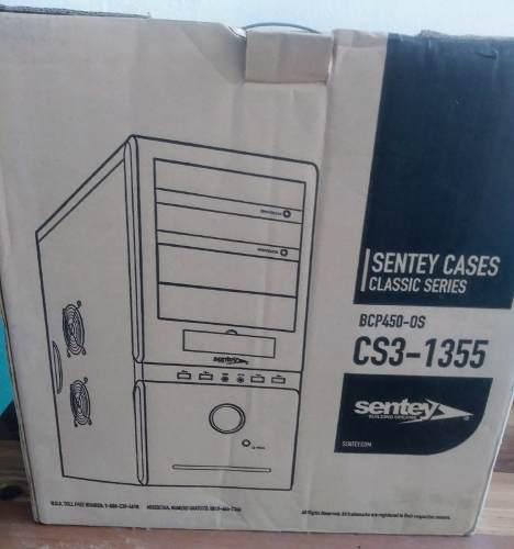 Case Pc Sentey Con Fuente Poder 450w Nuevo