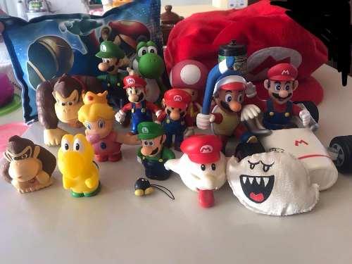 Colección Figuras De Mario Bros Originales