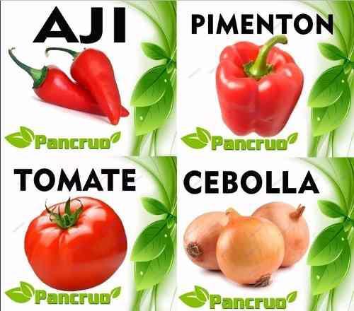 Combo Pdf Aprende Cultivo Ají Pimentón Tomate Cebolla