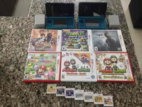 Consolas Nintendo 3ds Con Juegos