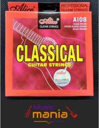 Cuerdas Guitarra Acústica Clásica De Nylon Prof