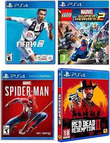 Juegos Playstation 4 Ps4 Originalnuevos Sellados En Su Caja