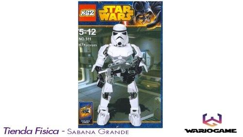 Lego Star Wars Figura Con Accesorio Muñeco Juguete 47 Pzs