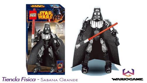Lego Star Wars Figura Con Accesorios Muñeco Juguete 47 Pzs