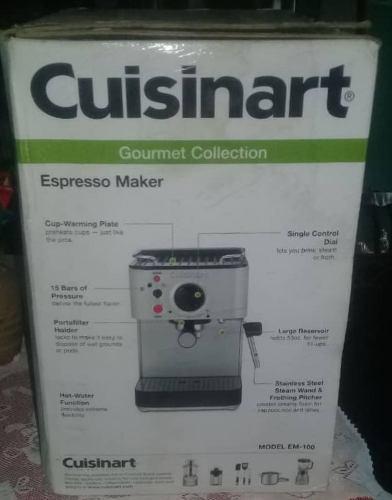 Máquina P/ Hacer Café Espresso Cuisinart Modelo Em-100