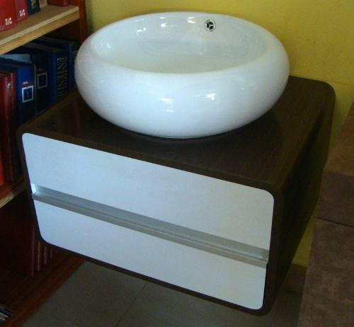 Mueble De Lavamanos Minimalista En Formica Moderno