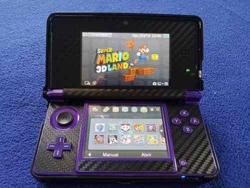 Nintendo 3ds Con Chip Y Mas De 14 Juegos