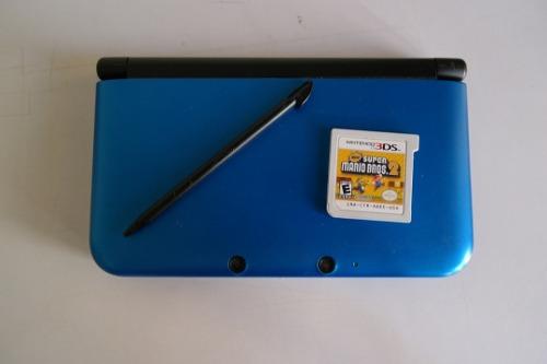 Nintendo 3ds Xl Con Juego De Mario Incluido (80v)