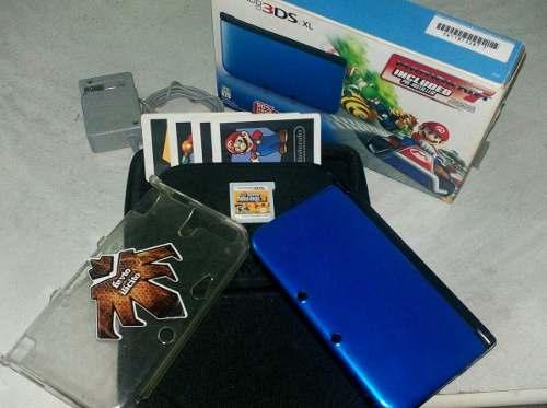 Nintendo 3ds Xl Edicion Especial Mario Kart7 - Poco Uso