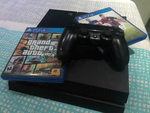 Playstation 4 Ps4, Sin Juegos, Sin Caja Con Un Control.
