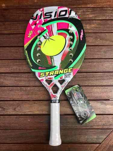 Raqueta De Beach Tennis Vision Strange Team 2019