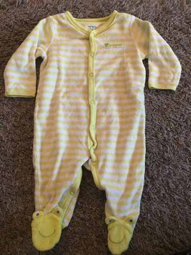 Ropa Pijamas O Enterizos Para Bebe Talla 3 A 6 Meses