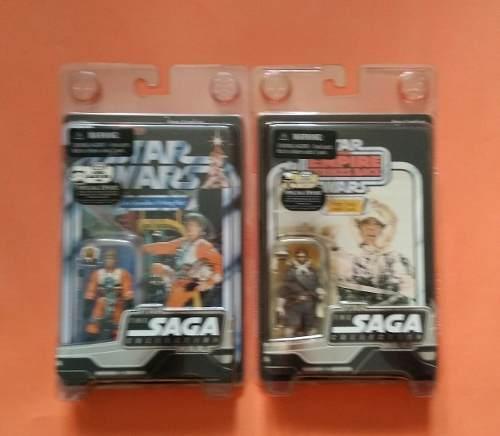 Star Wars Figuras Muñecos Vintage Collection Han Solo Luke