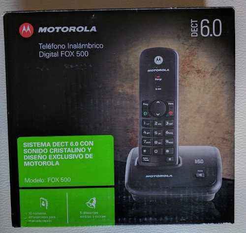 Telefono Inalambrico Digital Motorola Fox 500 Dect 6.0